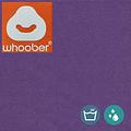 """Whoober Whoober Ronde Zitzak """"Ibiza"""" L outdoor paars - Wasbaar - Geschikt voor buiten"""