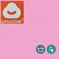 """Whoober Whoober Rechthoek zitzak """"St. Tropez"""" M outdoor roze - Wasbaar - Geschikt voor buiten"""