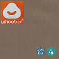"""Whoober Whoober Ronde Zitzak """"Ibiza"""" M outdoor taupe - Wasbaar - Geschikt voor buiten"""