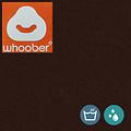 """Whoober Whoober Zitzak hoes """"Rhodos"""" outdoor chocoladebruin - Wasbaar - Geschikt voor buiten"""