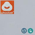 """Whoober Whoober Zitzak hoes """"Bali"""" outdoor licht grijs - Wasbaar - Geschikt voor buiten"""