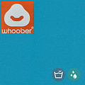 """Whoober Whoober Zitzak hoes """"St. Tropez"""" XL outdoor turquoise - Wasbaar - Geschikt voor buiten"""