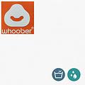 """Whoober Whoober Zitzak hoes """"Bali"""" outdoor wit - Wasbaar - Geschikt voor buiten"""