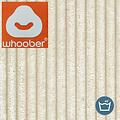 "Whoober Whoober Lounge stoel zitzak ""Bali"" ribcord crème - zacht en comfortabel - Wasbaar"