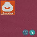 """Whoober Whoober Zitzak hoes """"Rhodos"""" outdoor bordeauxrood - Wasbaar - Geschikt voor buiten"""