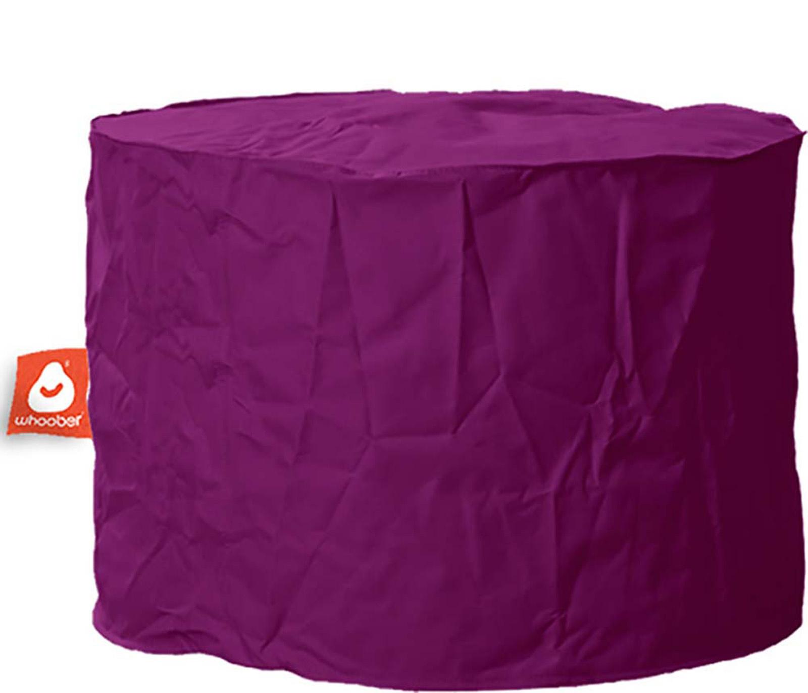 <h3>Comfortabele & multifunctionele paarse poef van Whoober-outdoor kwaliteit die in Nederland door Whoober wordt geproduceerd. Gratis verzending en binnen enkele werkdagen in huis!</h3><h2>Belangrijkste eigenschappen vande Rhodos</h2><ul><li>Ook voor de