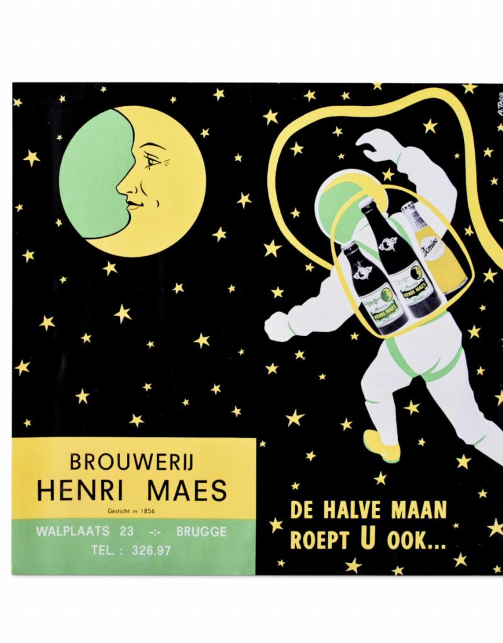 Henri Maes ruimte poster