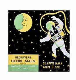 Halve Maan affiche l'espace