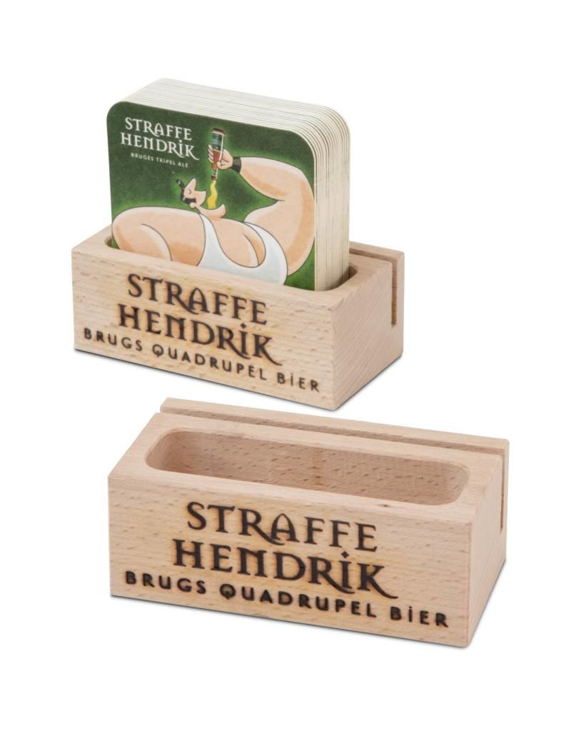 Straffe Hendrik wooden coaster holder