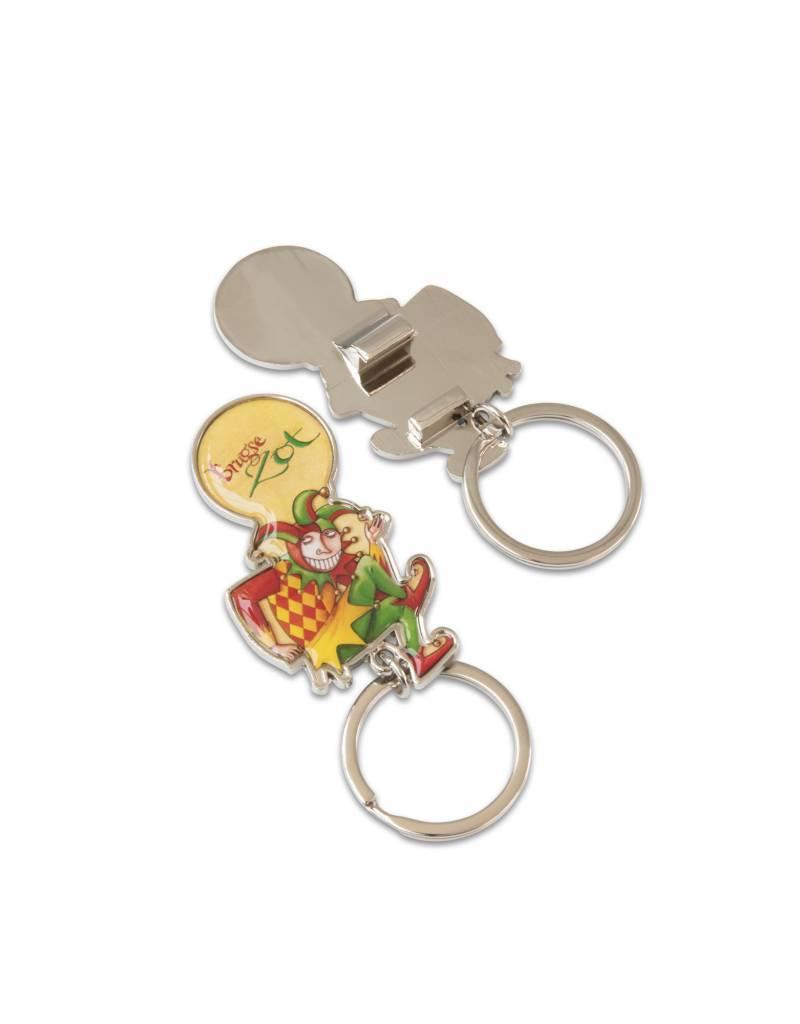 Brugse Zot porte-clés/décapsuleur