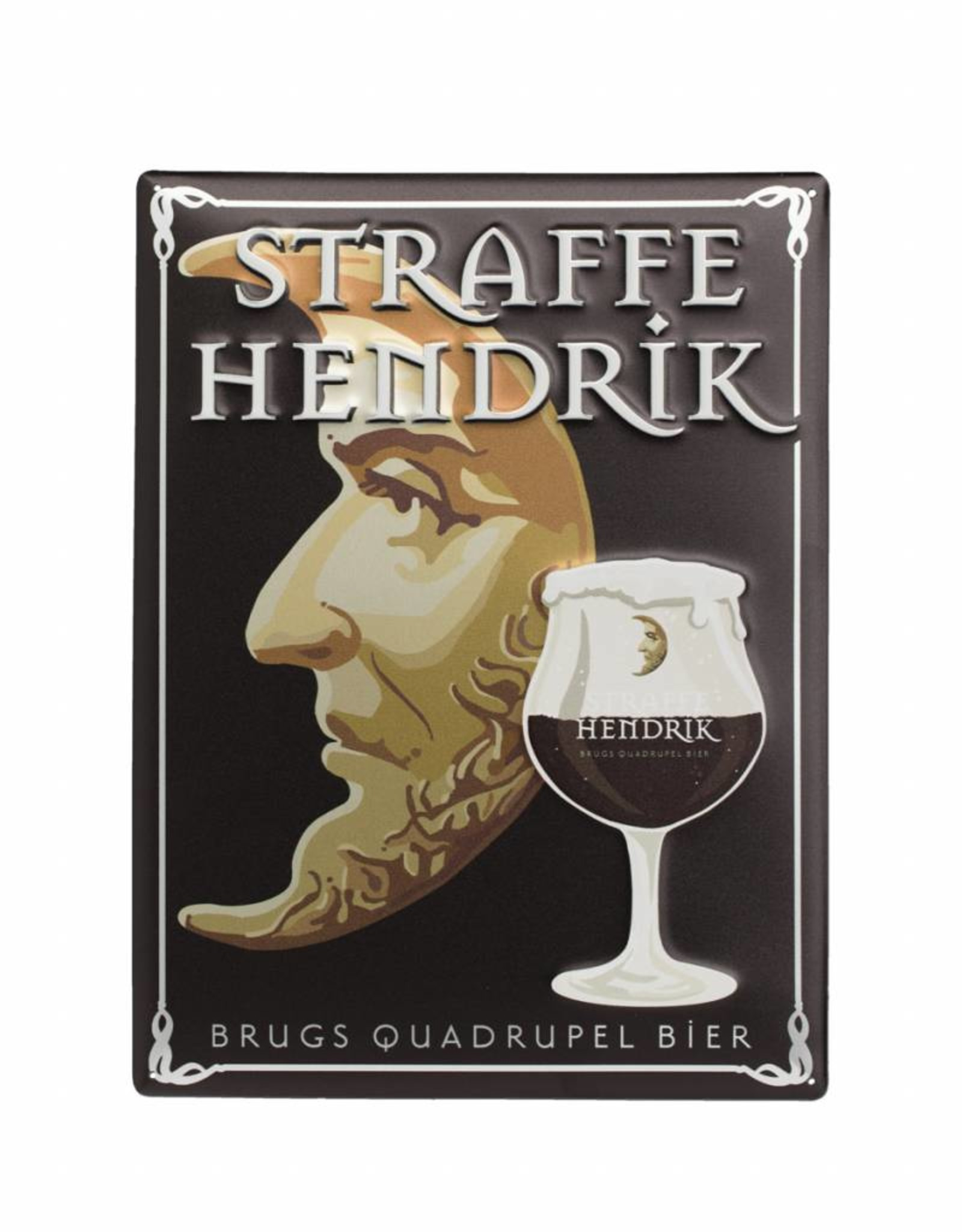 Straffe Hendrik quadrupel pancarte