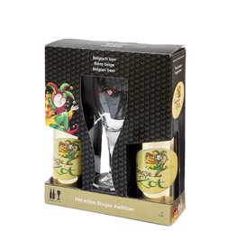 Brugse Zot 75cl bottle gift pack