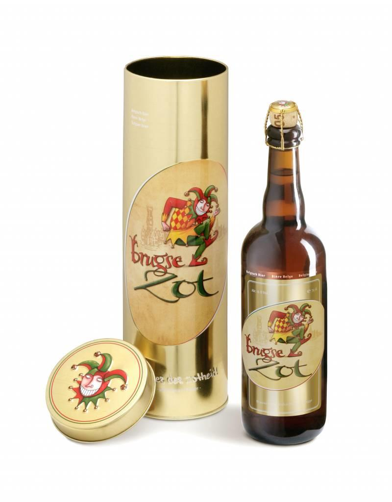 Brugse Zot blond metallic gift box