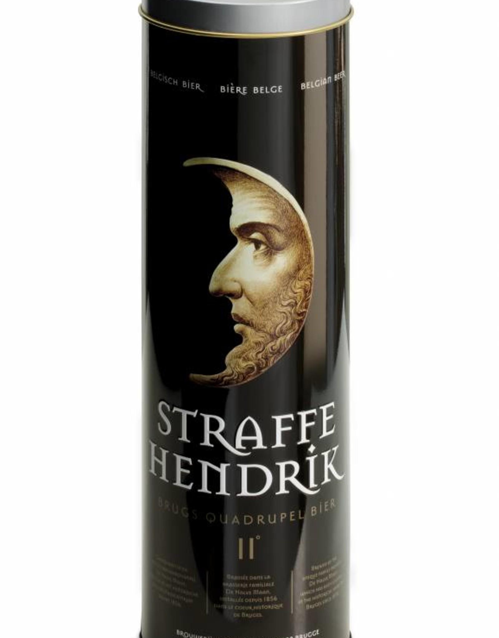 Straffe Hendrik quadrupel metallic gift box