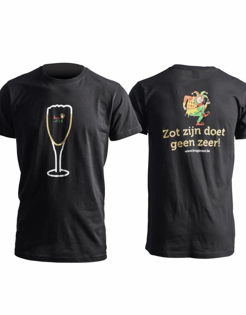 Brugse Zot T-shirt noir