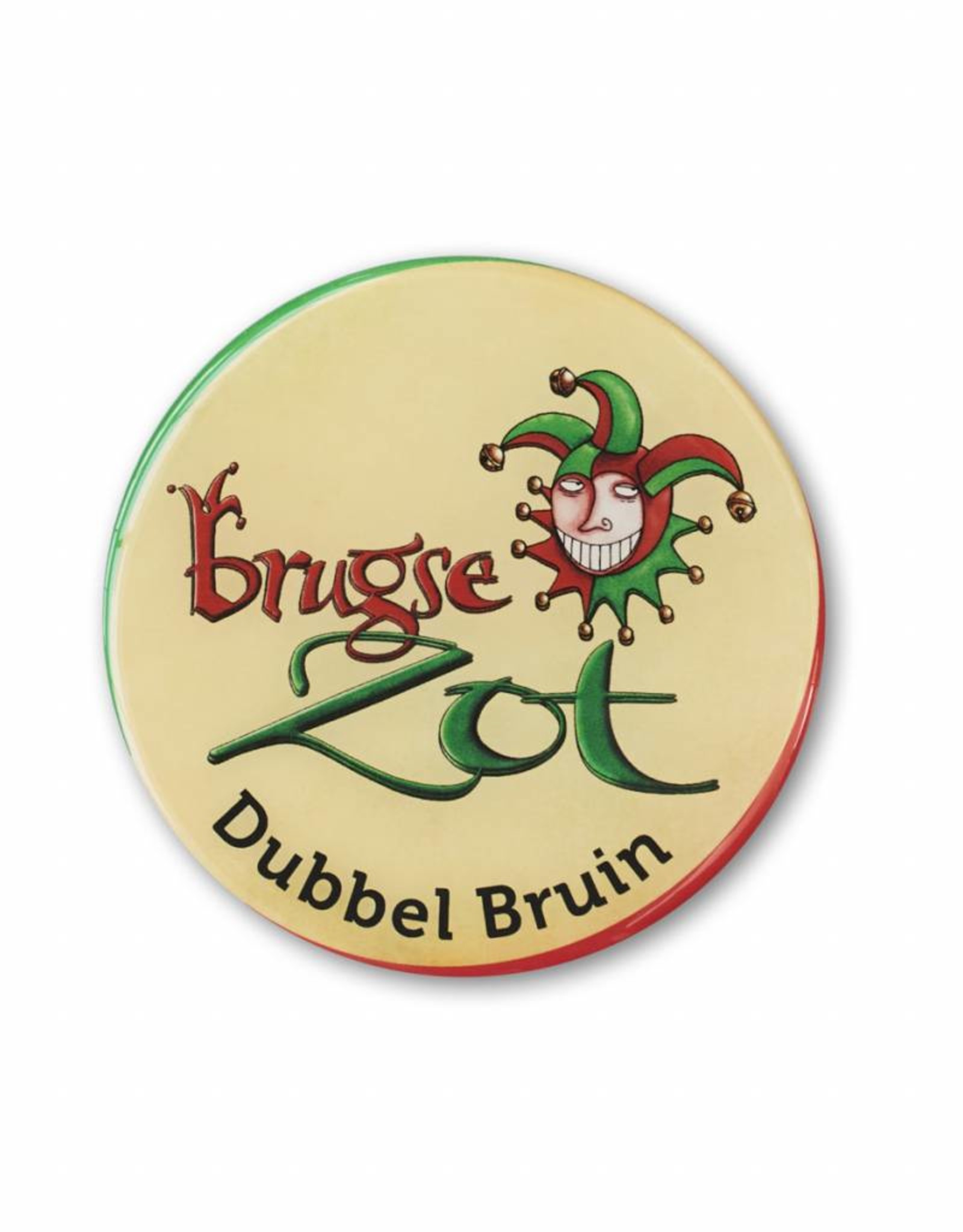 Brugse Zot tap handle sticker