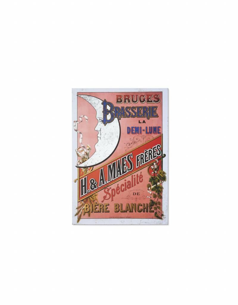 Henri Maes poster roze