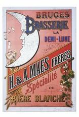 Henri Maes affiche rose