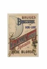 Henri Maes poster geel