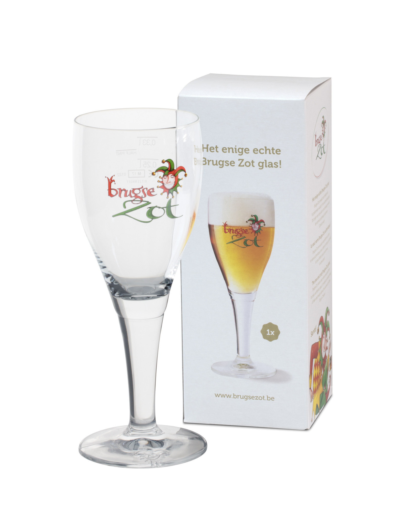 Brugse Zot Brugse Zot glass 33cl