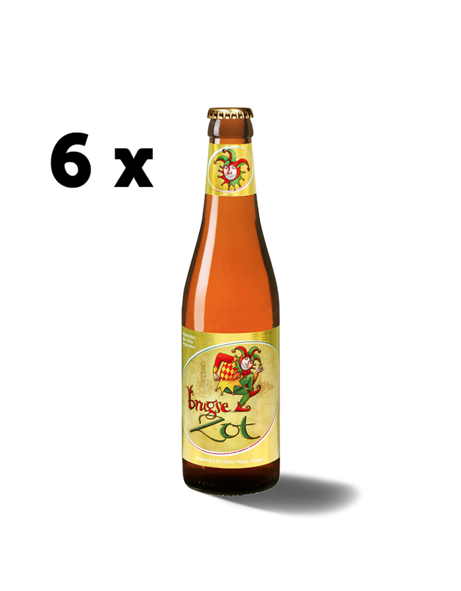 Brugse Zot blond sixpack