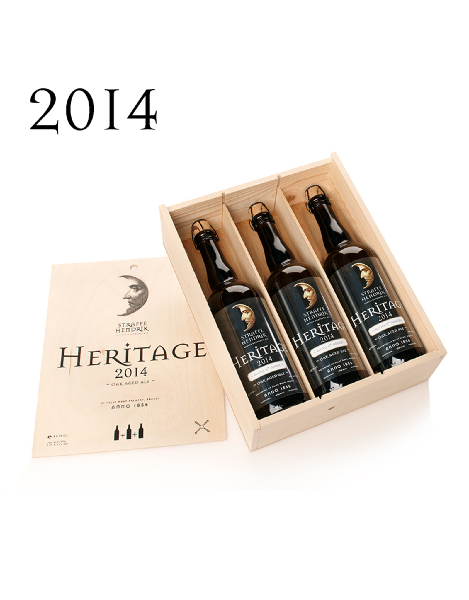 Straffe Hendrik Heritage 2014 3 x 75cl