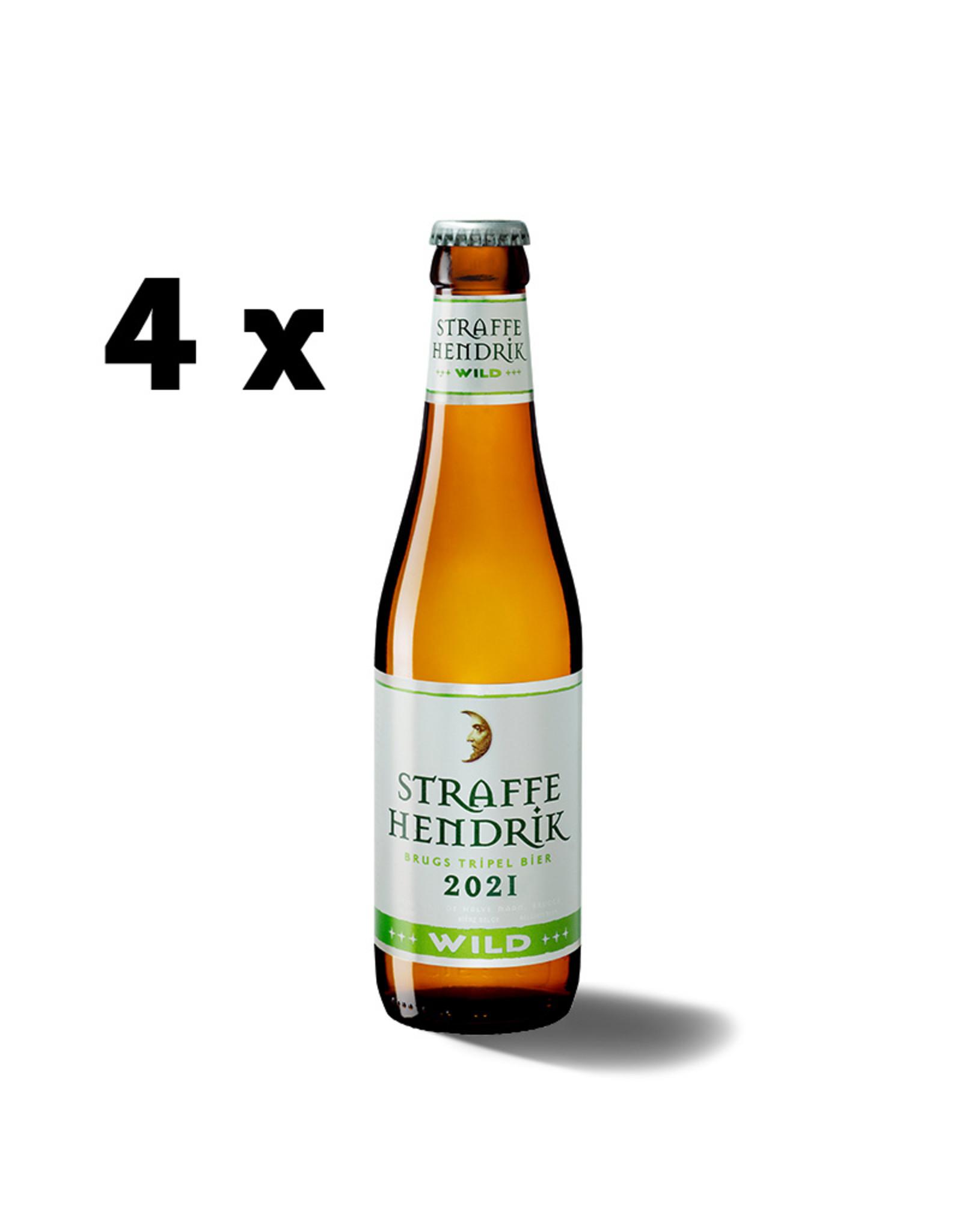 Straffe Hendrik Straffe Hendrik Wild 2021 4 x 33 cl