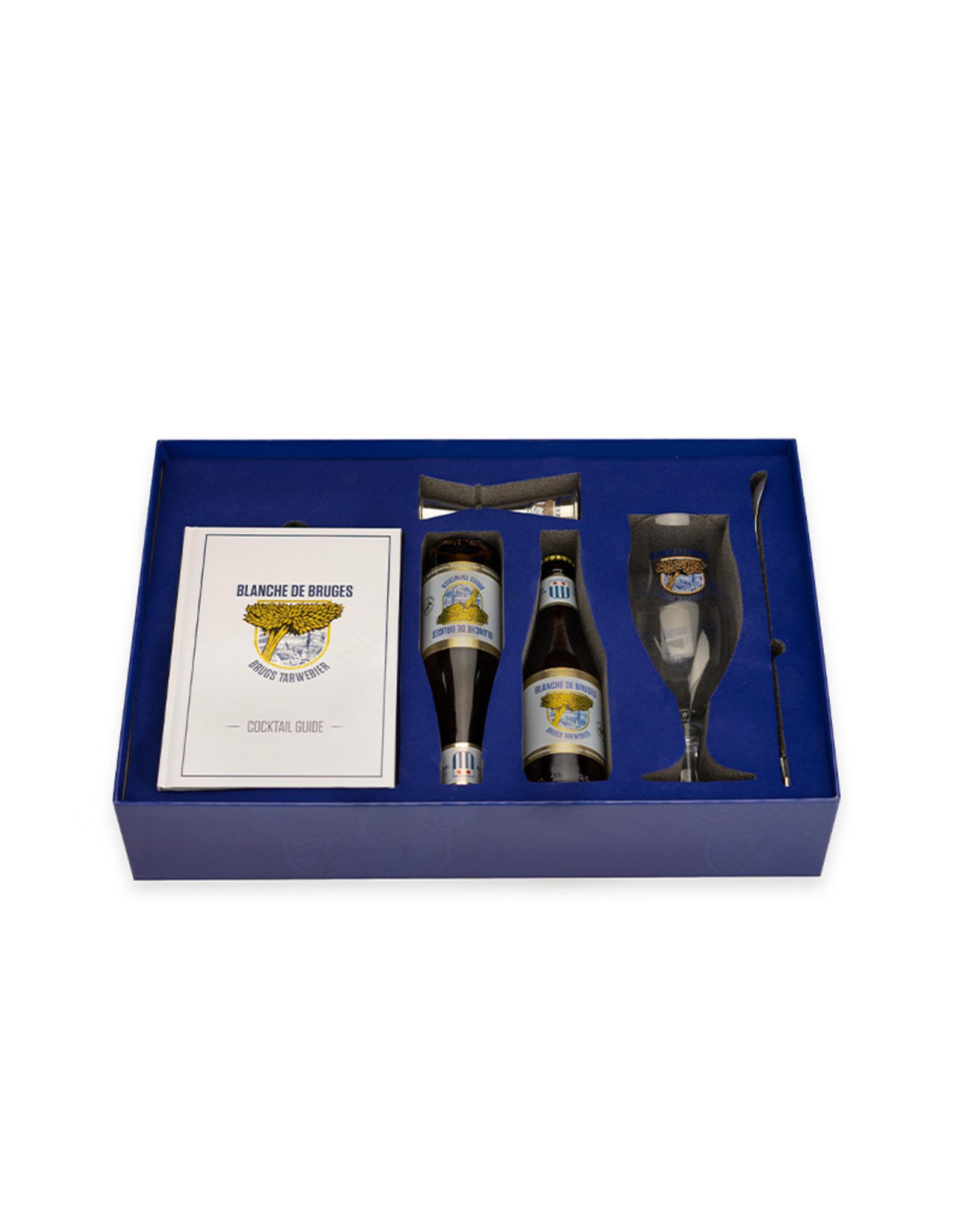 Brugs Tarwebier Blanche De Bruges cocktail box (Duch version)