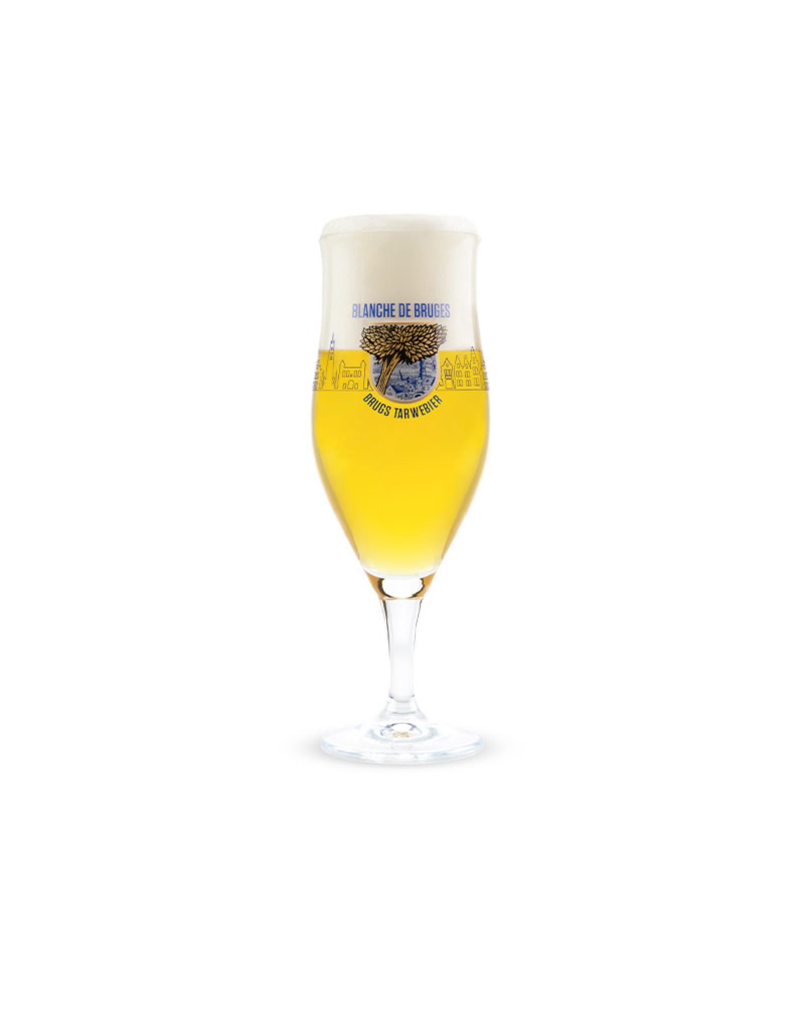 Brugs Tarwebier Cocktailglass Blanche de Bruges 33cl