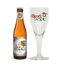 Sport Zot Sportzot Ben Broeders met glas