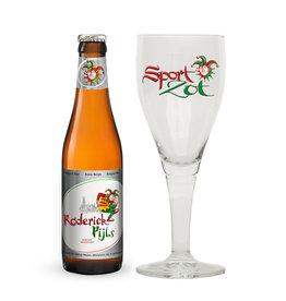 Sport Zot Sportzot Roderick Pijls met glas