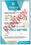 Reiscertificaat voorbeeld- travel certificate
