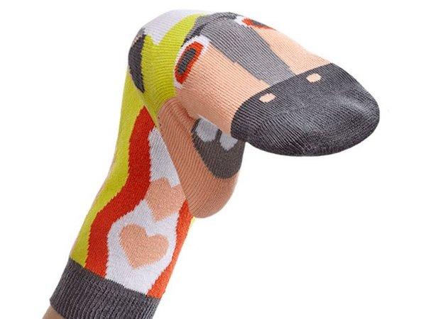 WALKYTALKIES middeleeuwse sokpoppen