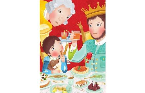 Hoe vertel ik het Prentenboek 'De prins die alleen maar dingen at met de letter P'