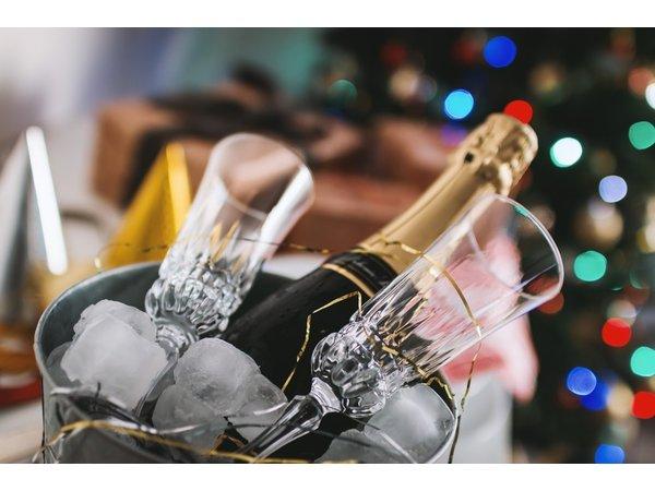 Champagne en kaviaar proeverij