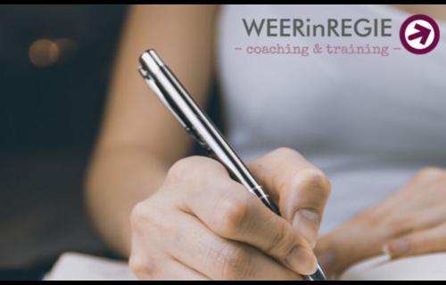 WEERinREGIE Een op één coaching