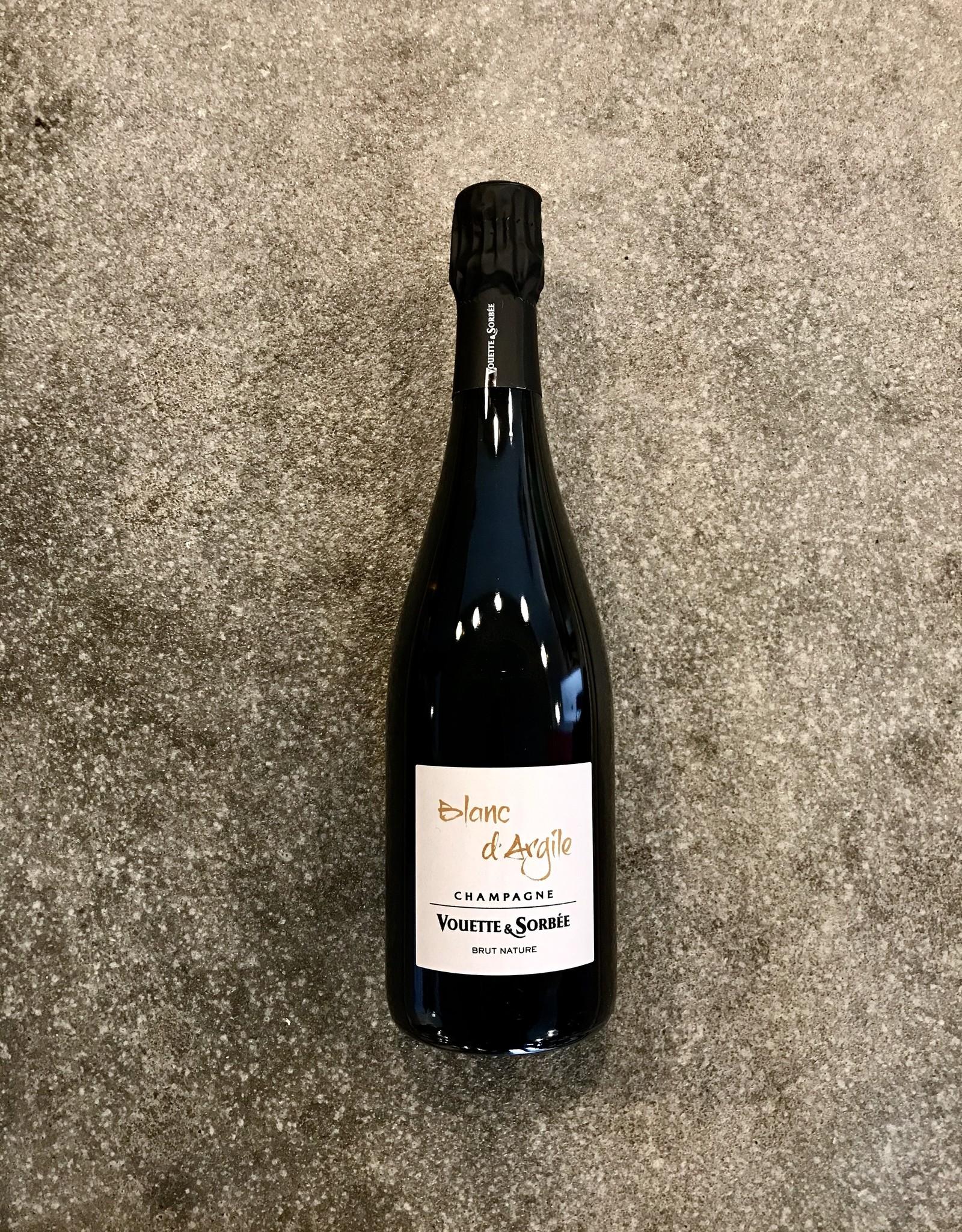 Champagne Vouette & Sorbée Blanc d'Argil Brut Nature