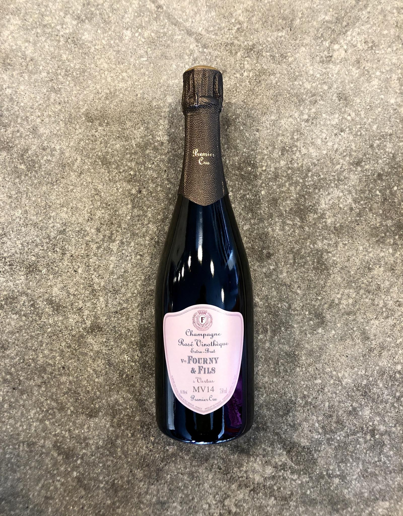 Champagne Veuve Fourny Rosé Vinothéque Extra Brut MV 14