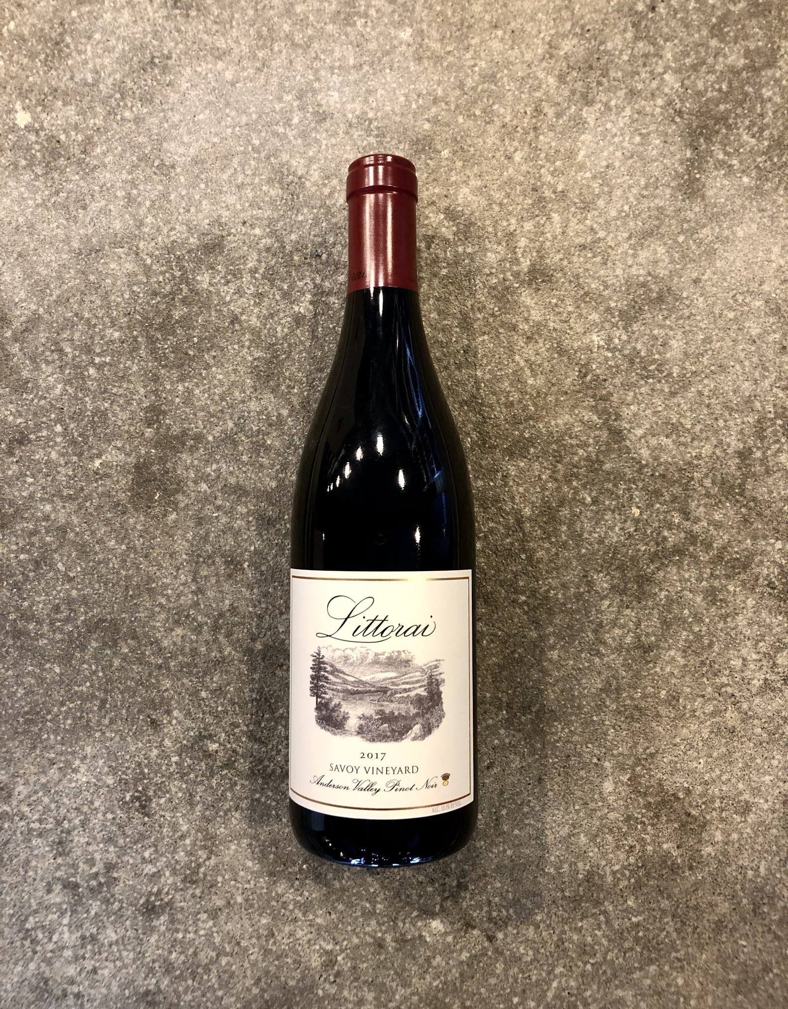 Littorai Savoy Vineyard Anderson Valley Pinot Noir 2017