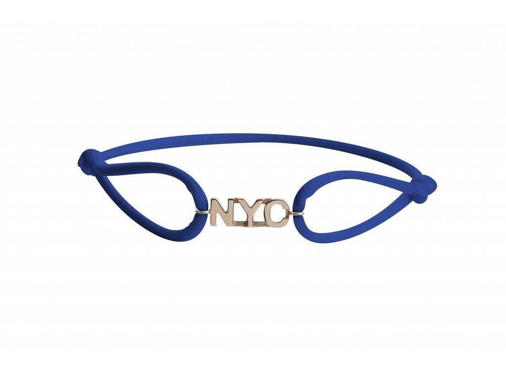 ddc1d761219998 City Bracelets Bracelet New York City Vibes Rose Gold / Dark Blue - City  Bracelets
