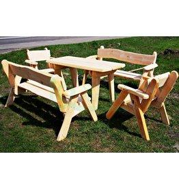 Garten Perfekt Sitzgarnitur RUSTI 5