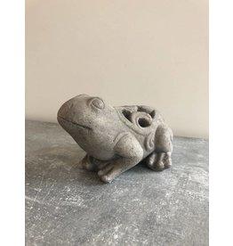 Garten Perfekt Dekofigur Frosch aus Zement PP-008