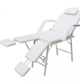 vidaXL Behandelstoel met verstelbare beensteunen