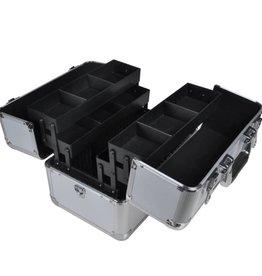 vidaXL Aluminium make-up koffer