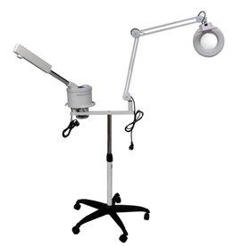 vidaXL Cosmetisch Stoomapparaat met loeplamp