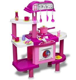 vidaXL Kinderspeelkeuken met licht- en geluidseffecten groot