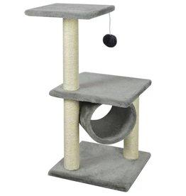 vidaXL Kattenkrabpaal 65 cm grijs