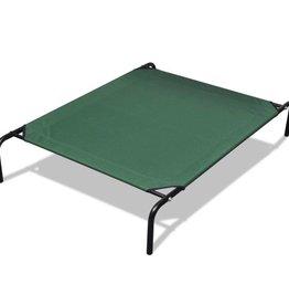 vidaXL Huisdieren bed met stalen frame 110 x 80 cm