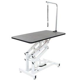 vidaXL Hydraulisch verstelbare trimtafel met aanlijnoptie