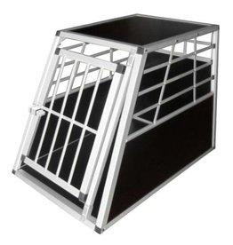 vidaXL Hondentransportkooi L aluminium